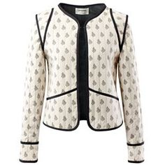 For fabulously fashionable bargains, look no further than the women's jackets outlet at La Redoute. It's French style made easy! Blazer Jackets For Women, Cotton Jacket, Boho, Blouse, Lady, Inspiration, Fashion, Quilted Jacket, Women's Jackets