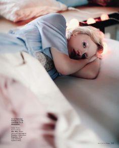 Sasha in @flairmagazin latest issue. by alexandrasophiephoto