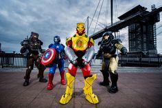 Iron Man Armor Improves Any Costume