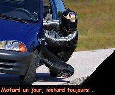 Motard un jour, motard toujours...