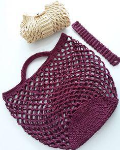 Ilk file siparişimi teslim ettim bile - Sac et accessoires Crochet Clutch, Crochet Handbags, Crochet Purses, Crochet Diy, Filet Crochet, Crochet Gifts, Diy Sac, Crochet Market Bag, Crochet For Beginners