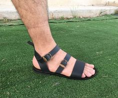 Free shipping-Leather Sandals 100% genuine leather Leather Cord Bracelets, Leather Sandals, Leather Boots, Mode Masculine, Socks And Sandals, Men Sandals, Cowboy Boots Women, Cowgirl Boots, Western Boots