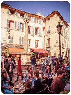Aix-en-Provence by miemo, via Flickr