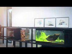 Obrazy na plotnie do salonu Zurawie Seria Shanghai - Nowoczesne obrazy do salonu i sypialni. Ręcznie zdobione. Aquarium, Living Room, Goldfish Bowl, Aquarium Fish Tank, Aquarius, Fish Tank