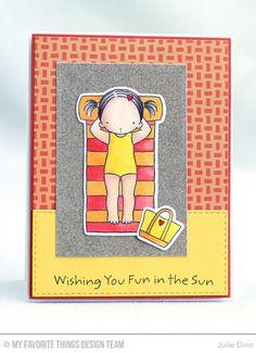 Fun In the Sun, Fun In the Sun Die-namics, Horizontal Stitched Strips Die-namics - Julie Dinn #mftstamps