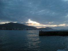 Sunset from Getxo (near to Bilbao, Vizcaya, Spain)