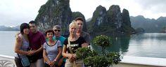 I clienti di Asiatica Viaggio in baia di #Halong #vietnam  http://viaggi.asiatica.com/