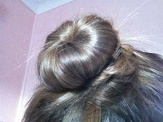 This is a fun hair bun to wear anywhere!!