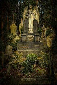 Angel Highgate cemetery                                                                                                                                                                                 More