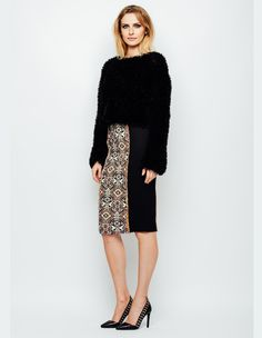 Fusta creion cu influente traditionale Boho Chic, Sequin Skirt, Sequins, Skirts, Fashion, Moda, Sequined Skirt, Fashion Styles, Skirt