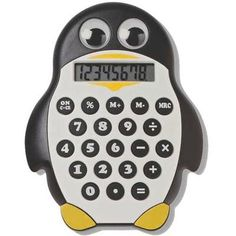 Math is incalculably more fun when you're punching numbers into a helpful device shaped like a panda, penguin or owl!