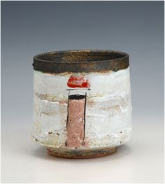 Robin Welch - Teabowl - stoneware click the image or link for more info. Slab Pottery, Pottery Mugs, Ceramic Pottery, Pottery Art, Pottery Studio, Pottery Ideas, Ceramic Clay, Ceramic Bowls, Stoneware