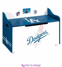 Dodgers toy box