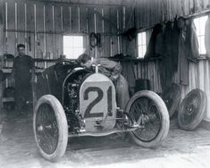 Click to find out more about Garage Mural - Vintage Indy Garage