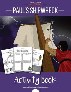 craft for bible story with paul shipwreck