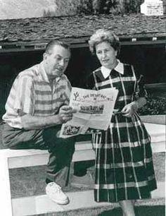 Walt and Lillian Disney