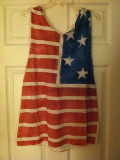 American Flag Tank Tops by JennBuggCreations on Etsy, $25.00