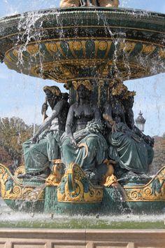 Paris - where Andi Sachs (Anne Hathaway) throws her cell phone