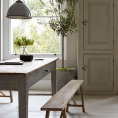 white and light and weathered gray wood