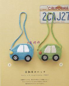 Crochet Elephant Pattern, Crochet Dolls Free Patterns, Crochet For Kids, Crochet Baby, Easy Crochet, Crochet Snowman, Handmade Handbags, Crochet Books, Kids Bags