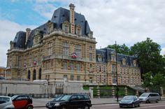 * Hôtel de Ville *  Versalhes, França.
