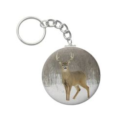 Shop Basic Button Keychain, Magnificent Snow Deer Keychain created by mockapupps. Deer, Decor Ideas, Buttons, Snow, Drop Earrings, Personalized Items, Jewelry, Jewels, Schmuck