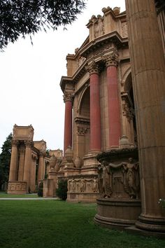 San Francisco - Palace of Fine Arts. I remember a great day here with my parents and then dinner at the Blue Fox!!