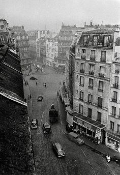 Ken Van Sickle Paris 1955