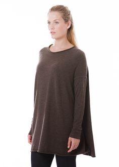 Pullover Tiras von annette görtz bei nobananas mode #nobananas #annettegoertz #havana #smooth #silk #cashmere #pullover #bell #shape #fw16 nobananas.de/shop