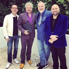 Food Network's Guy Fieri Officiates Epic Same Sex Wedding Ceremony In Miami!