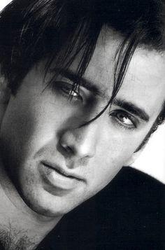 ♂ Black & white portrait man Nicolas Cage