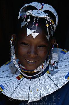 Maasai tribe. Ngorongoro Conservation Area, Tanzania.