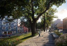 CGarchitect - Professional 3D Architectural Visualization User Community   TMRW.se - Bryggepromenaden in Trondheim