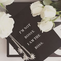 """""""I'm Not Bossy I Am The Boss"""" Wall Print 