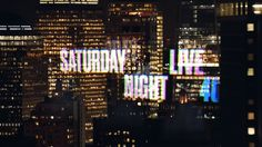 The logos of SNL through the years. Pictured here is the most recent logo of season 41.