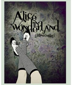 Alternative movie poster for Alice in Wonderland by CranioDsgn