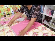 COMO FAZER ROUPA DE BEBE COM SOBRAS DE TECIDOS/ VEDA #8 - YouTube Baby Clothes Patterns, Clothing Patterns, Sewing Patterns, Clay Crafts, Diy And Crafts, Baby On The Way, Baby Sewing, Crochet Baby, Little Girls