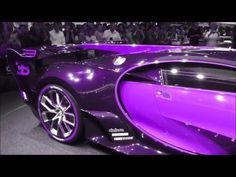 COLOR CHANGING (FULL-VERSION) Bugatti ''Vision Gran Turismo'' 8.0 W16 1500 Hp 463 Km/h * Playlist - YouTube