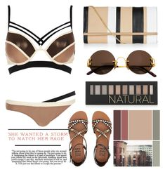 """""""A Bikini Summer"""" by emcf3548 ❤ liked on Polyvore featuring Cartier, River Island, New Look, Billabong and Forever 21"""