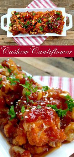 Cashew Cauliflower                                                       …