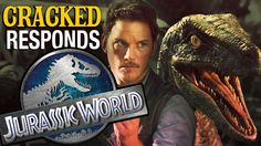 Jurassic World Trailer - Cracked Responds Jurassic World Trailer, Public Service, Trailers, Awesome, Movies, Films, Hang Tags, Cinema, Civil Service