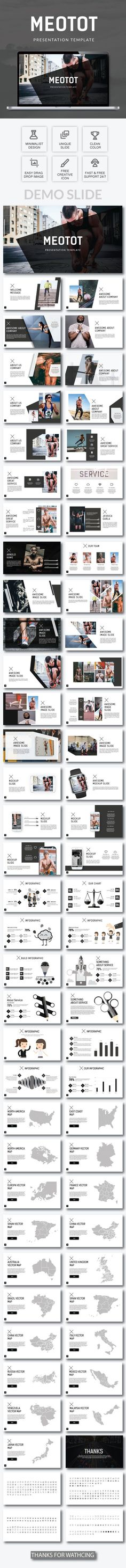 Metotot Business Powerpoint Template - PowerPoint Templates Presentation Templates