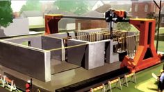 construção por impressora 3D