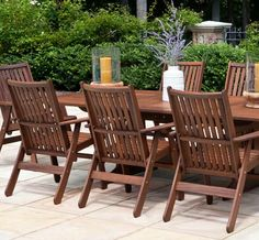 Beau Governor Alpha Group Wood Furniture Dining Set