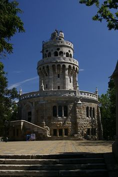 Elizabeth Lookout Tower on Janos Hill - the highest spot of Budapest My House In Budapest, Visit Budapest, Budapest Hungary, Throughout The World, Around The Worlds, European Integration, Lookout Tower, Central Europe, Large Photos