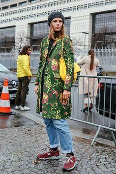 2017 秋冬巴黎時裝週波鞋街拍