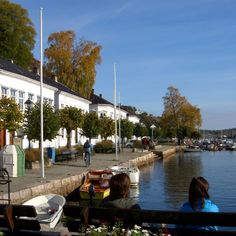 Solsiden, Risør White City, Small Towns, Wonderful Places, Summer Time, Norway, Spaces, Daylight Savings Time, Summer