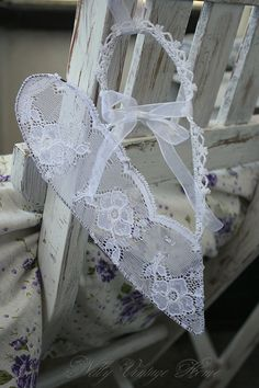 Wire & Lace Heart.