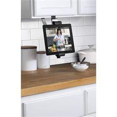 iPad under cabinet mount