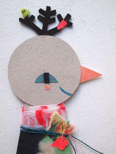 """""""Paper friend"""": Greenfinch Oraubululu  https://www.etsy.com/shop/blancahelga"""